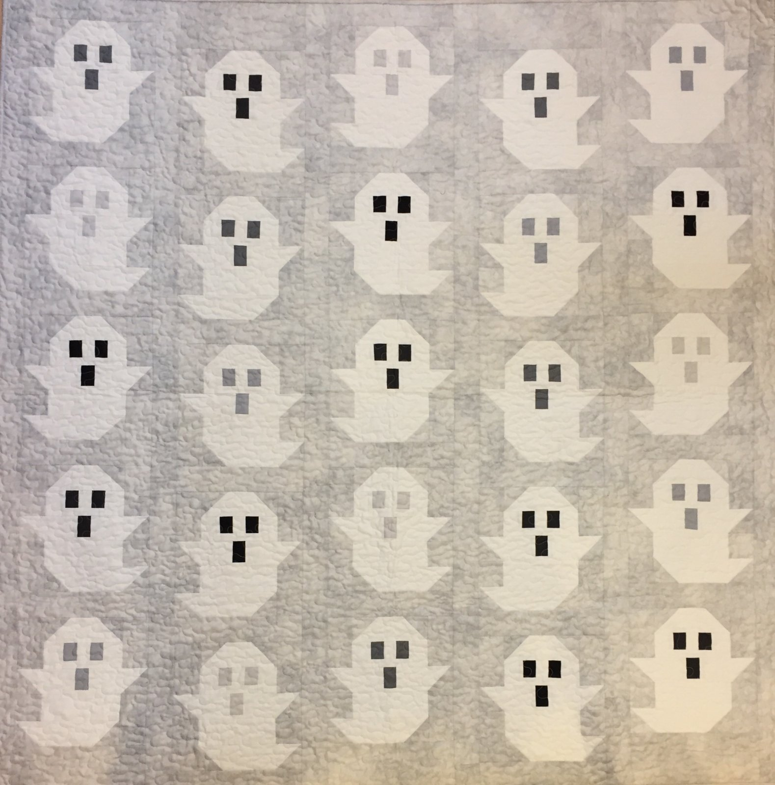 The Ghost Quilt Kit 62 x 64