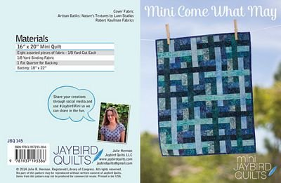 Mini Come What May Jaybird Quilts