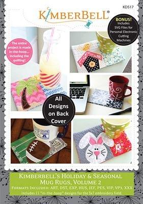 Holiday & Seasonal Mug Rugs Volume 2