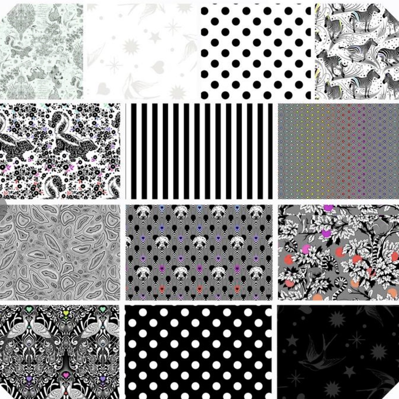 Linework 5 Charm Pack FB6CPTP.LINEWORK by Tula Pink