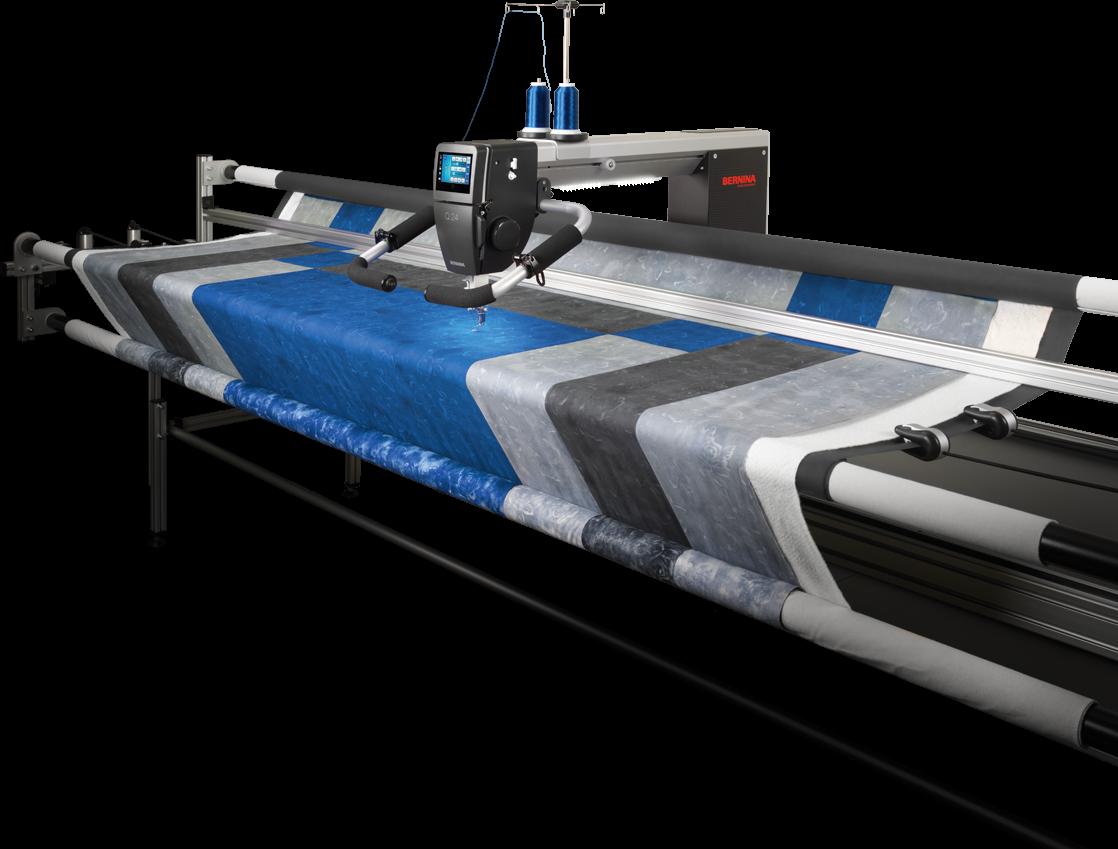 BERNINA Q24 Longarm Quilting Machine with Frame