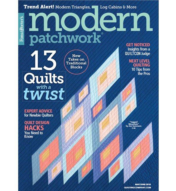 Modern Patchwork Magazine May/June 2018