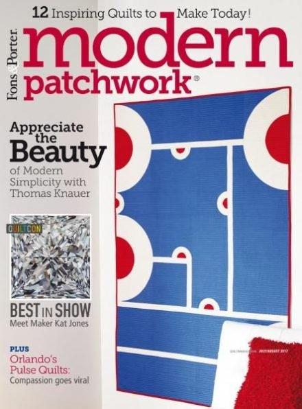 Modern Patchwork Magazine July/August 2017