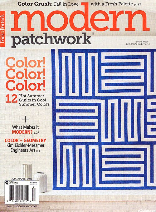 Modern Patchwork Magazine July/Aug 2018