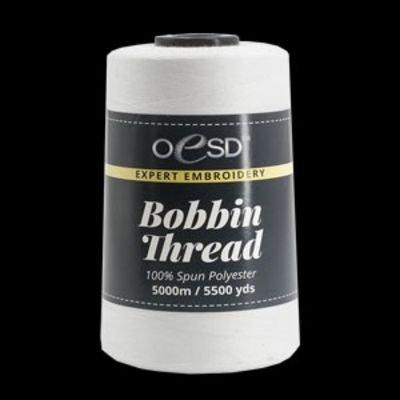 OESD Bobbin Thread White 5500Y 60wt