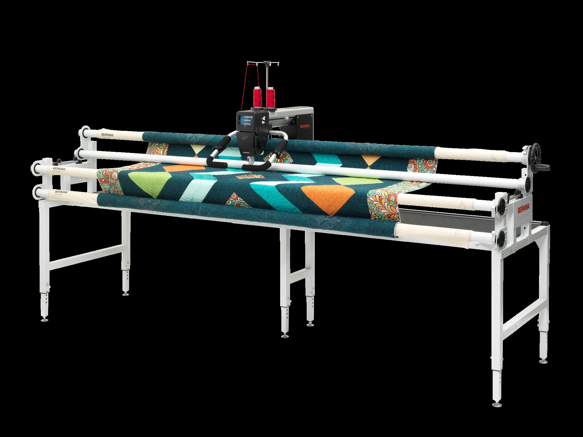 Bernina Q16 PLUS Long Arm Quilter With 10 Studio Frame