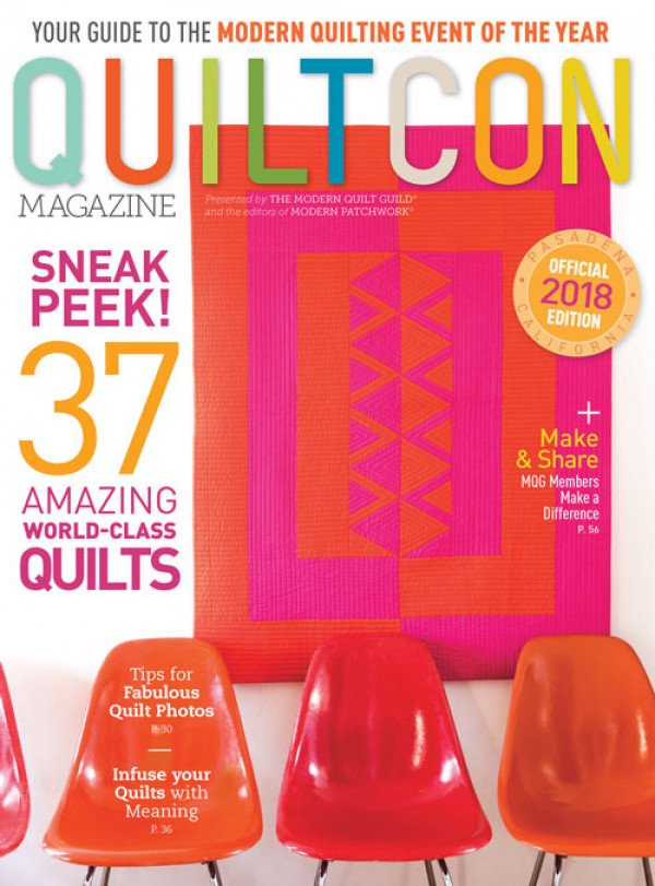 QuiltCon Magazine 2018