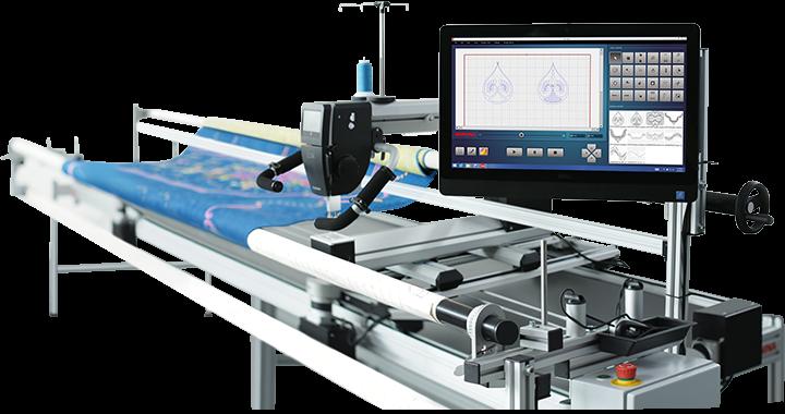 BERNINA Q-Matic Longarm Automation System