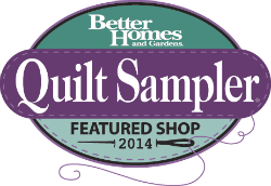 Stash has been chosen as a 2014 Top Shop by Quilt Sampler Magazine