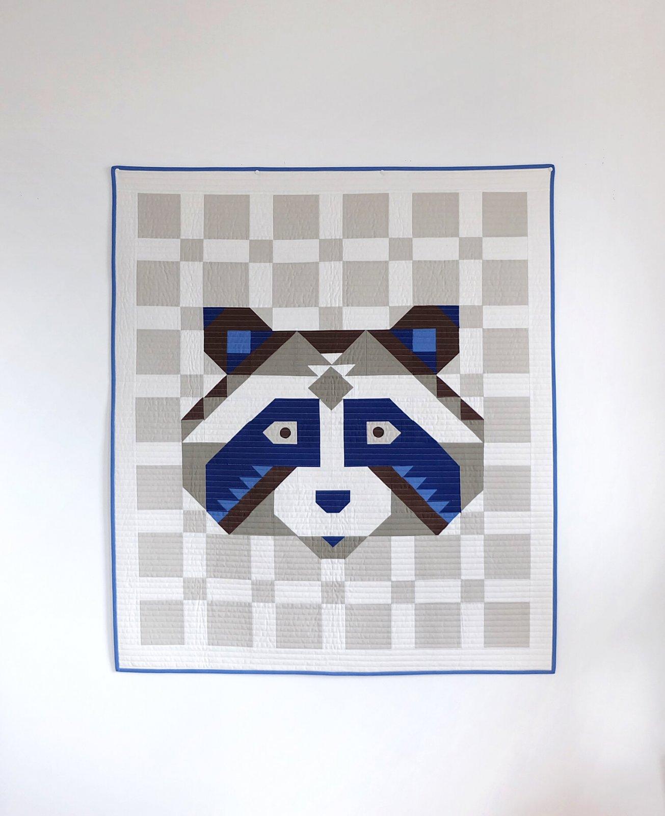 Little Raccoon Quilt