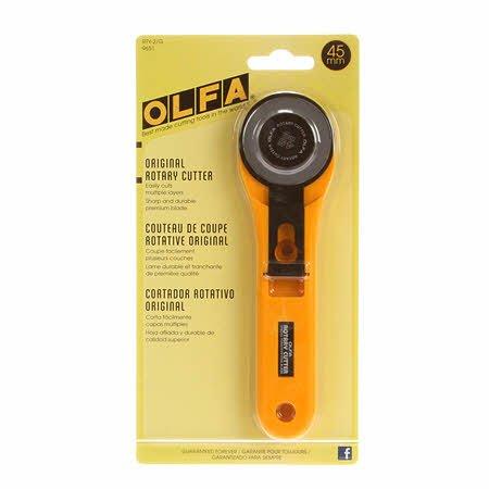 Olfa Rotary Cutter 45mm Straight