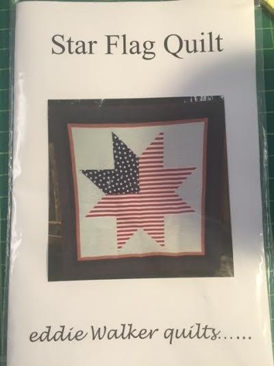 Eddie's Star Flag Quilt Pattern