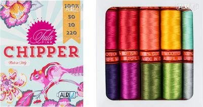 Chipper Thread Pack Tula Pink 10 Colors
