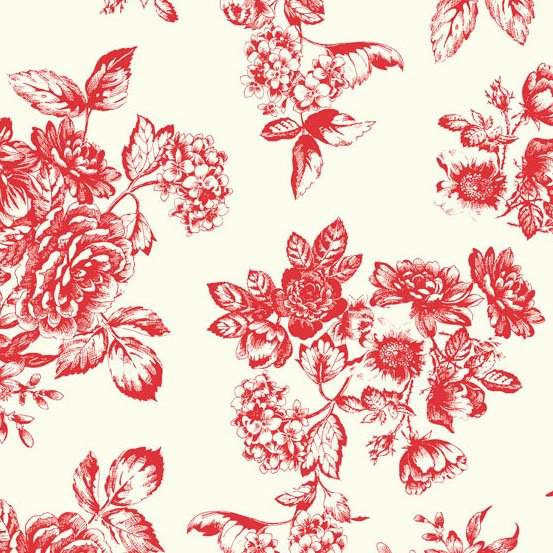 Katie Jane Toile Red TP-1902-R
