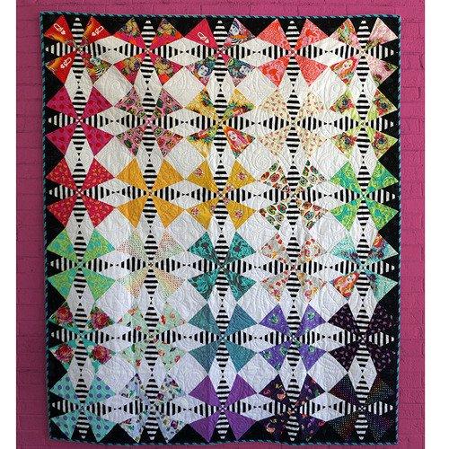 The Hatter Quilt Kit 60 x 72