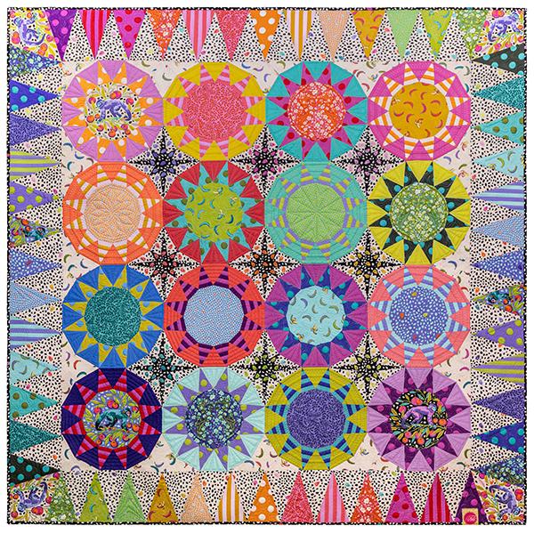 Tula Sunrise Quilt Kit KITQTTP.TULASUNRISE Tula Pink