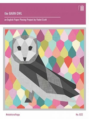 The Barn Owl: An English Paper Piecing Project