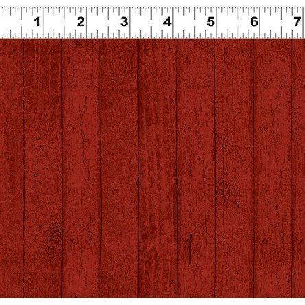 Snow Much Fun! Barn Board Red Y2214-82