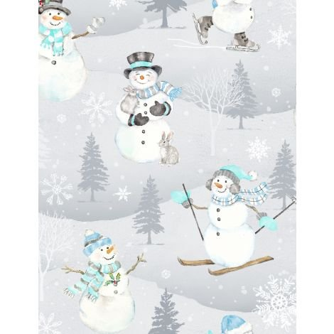 Snow valley Tossed Snowmen