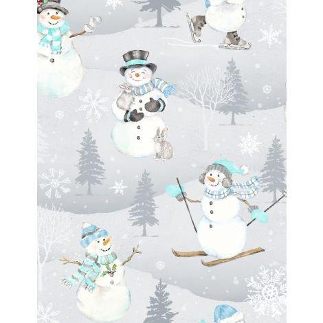 Snow Valley Toss snowmen