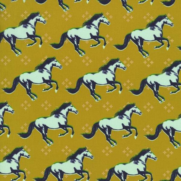 Mustang in Mustard