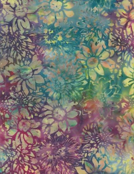 Anthology Batiks - Multi Flowers