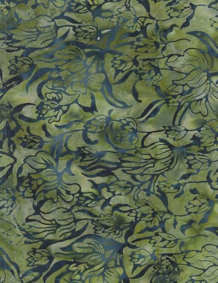 Anthology Batiks - Green / Blue