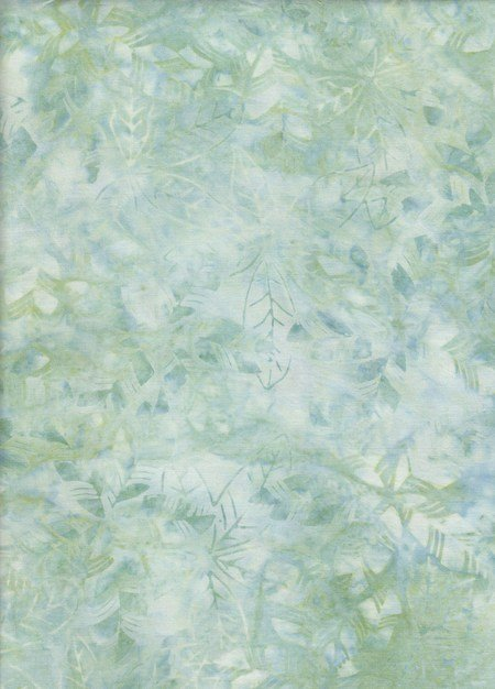 Anthology Batiks -The Rayon Collection - Leaves Fog