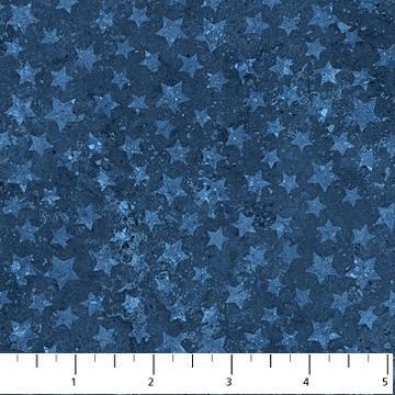 Stars and Stripes - Tonal Stars on Navy