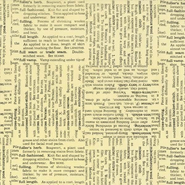 Vintage Made Modern: Text in Cream