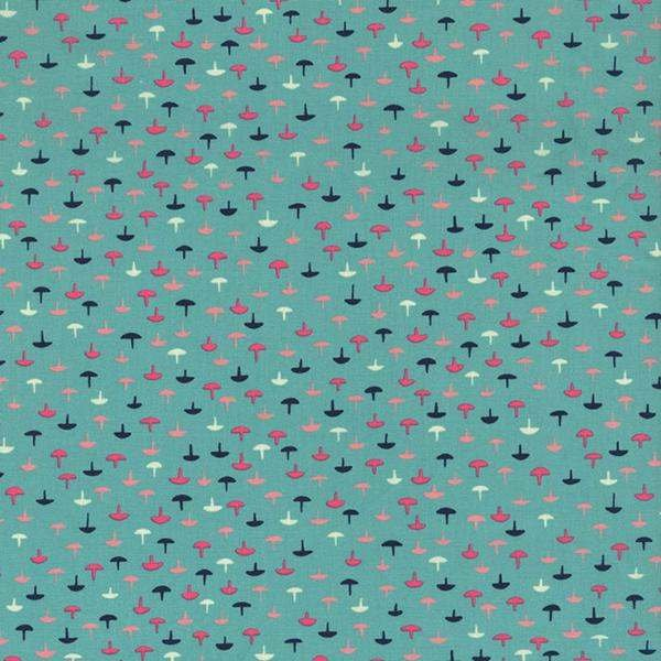 Cotton & Steel Tacks in Teal