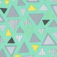 L's Modern: Geometrics in Teal
