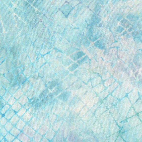 Batik: Crackle Aqua