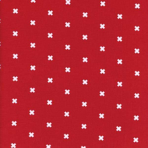 Cotton & Steel Basics XOXO in Velvet Ribbon