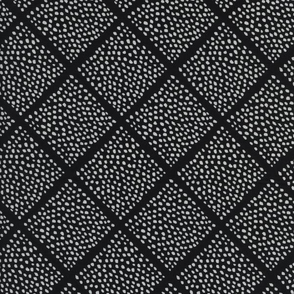 Black & White 2016: Lattice Dots by Sarah Watts