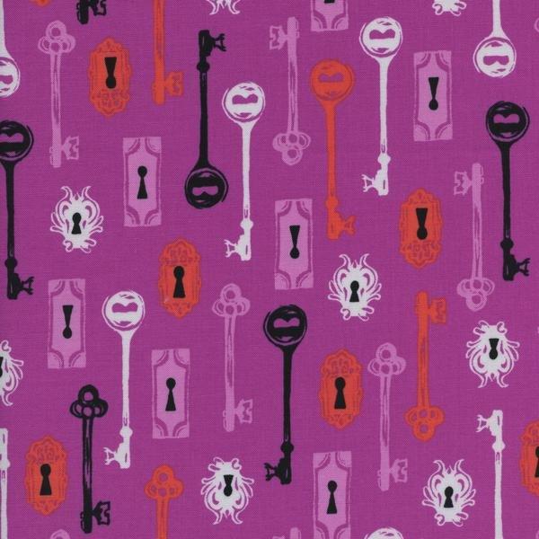 Boo! - Skeleton Keys in Grape