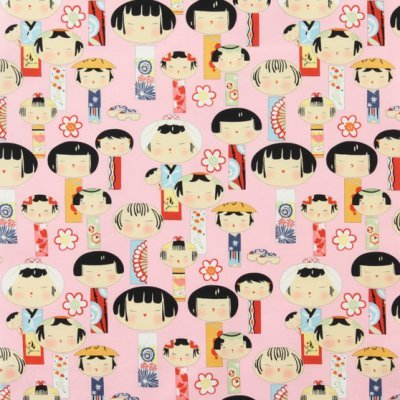 Alexander Henry: Yui Kokeshi Pink