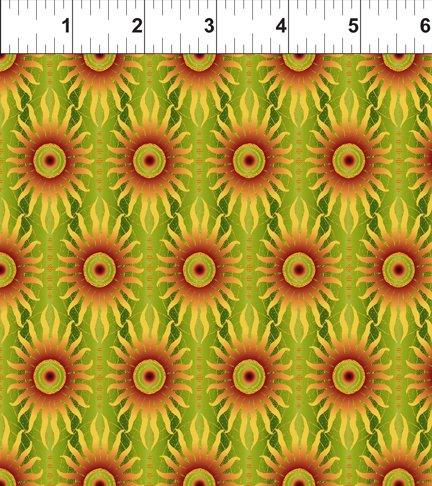 Celestial Collection: Sun Stripe Green