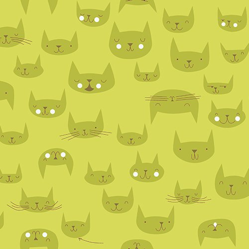 Lizzy House - Catnap - Cattitude Green