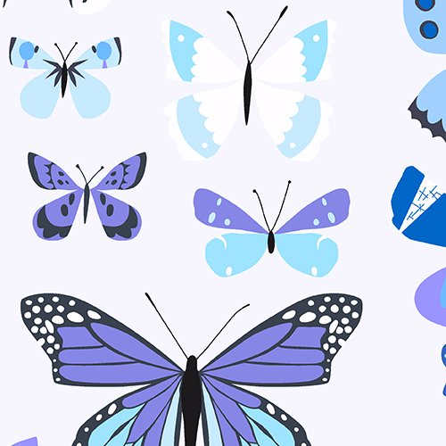Natural History: Lepidopterist in Blue