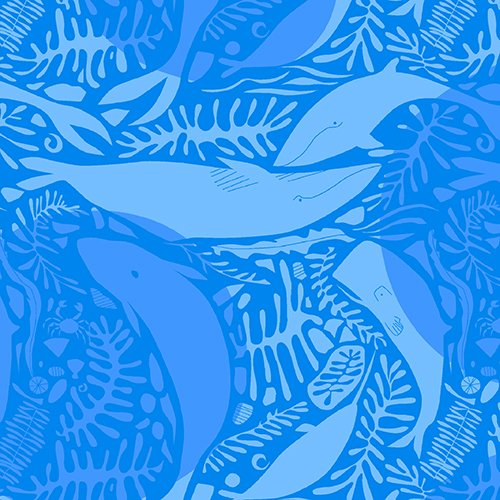 Natural History: Whales in Blue
