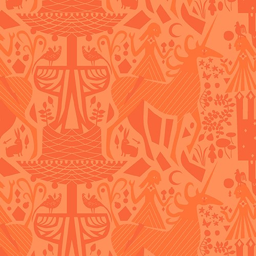 The Lovely Hunt - Tonal in Orange