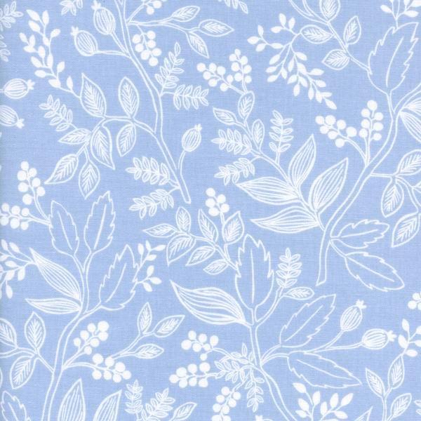 Les Fleurs: Queen Anne in Pale Blue