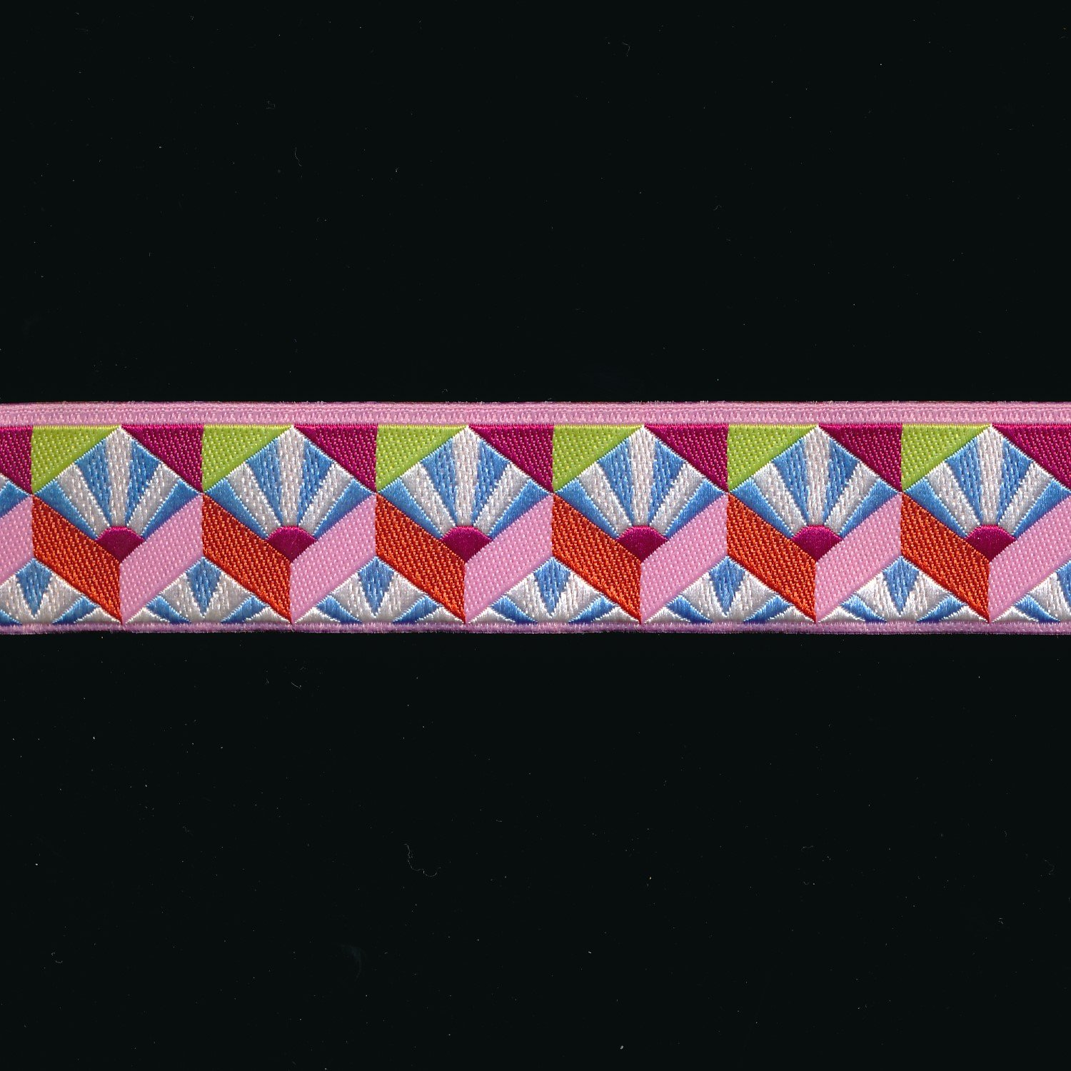 Kaffe Fassett Fan Box Ribbon in Pastel 7/8