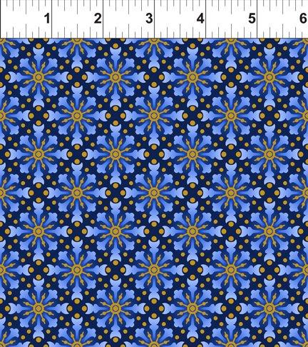 Celestial Collection: Star Medallion Blue
