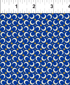 Celestial Collection: Crescent Moon Blue