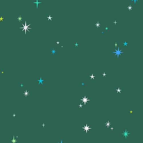 Natural History: Stars in Green