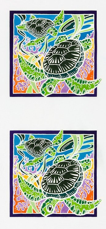 Panel Turtle Double