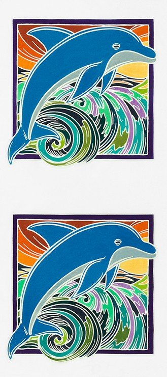 Panel Dolphin Double
