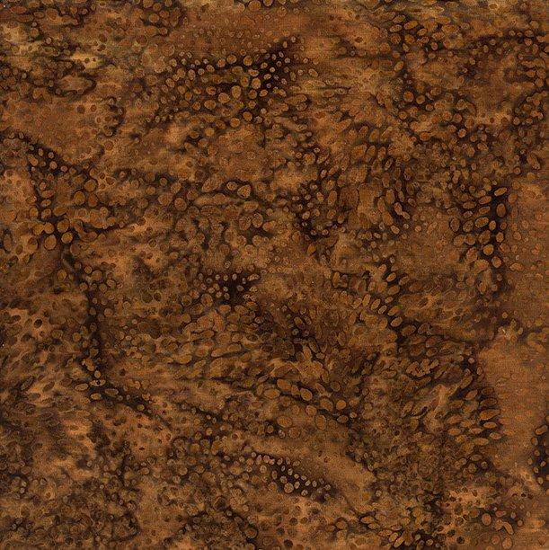 Batik: Pebbles in Coffee